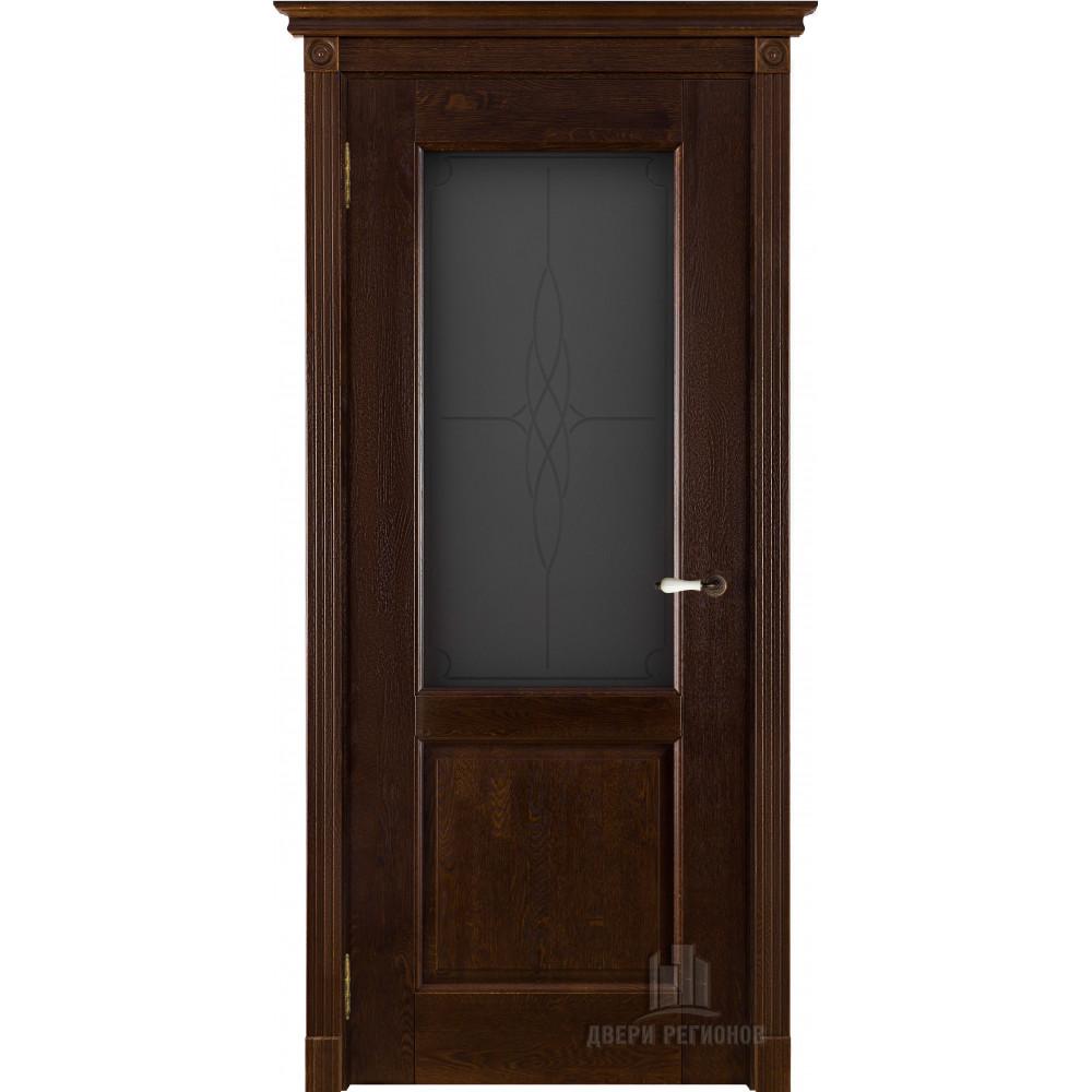 Межкомнатная дверь Селена  ДО дуб античный орех